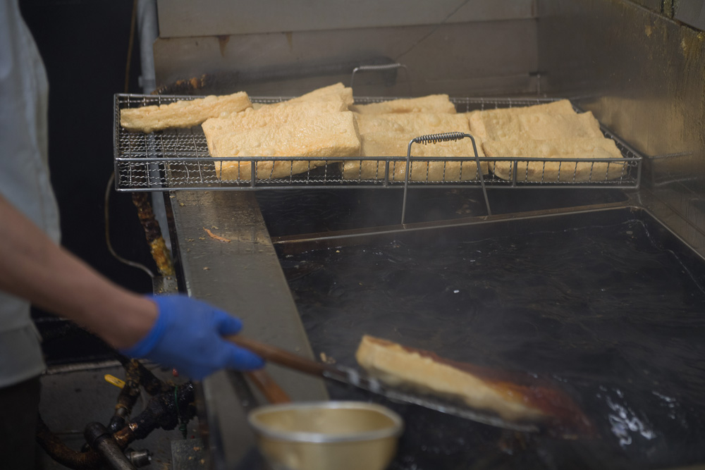 おぼろ豆腐の完成