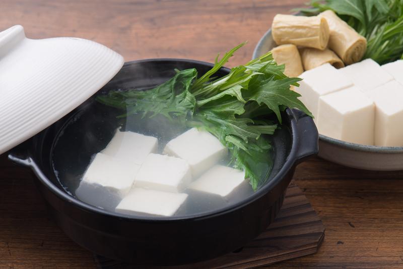 京風湯豆腐