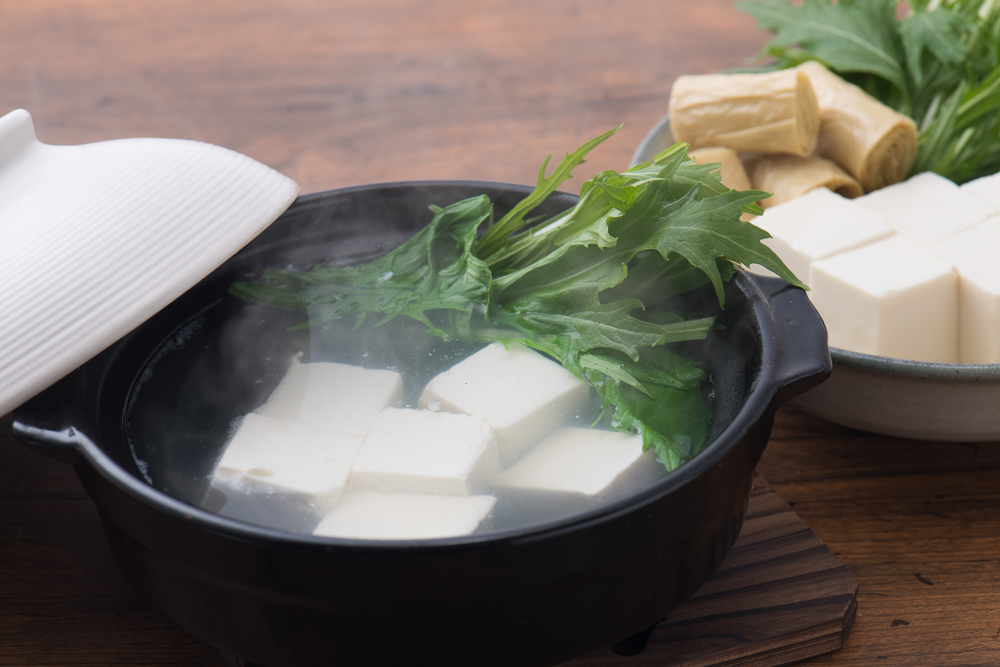 京都の湯豆腐(服部)